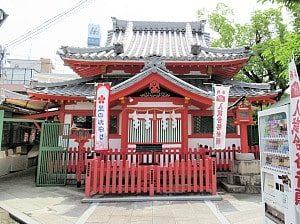天神社の裏側