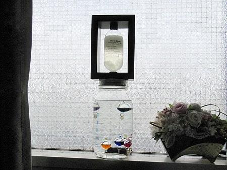 ガリレオ温度計とストームグラス