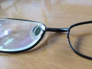 古い眼鏡を改造2