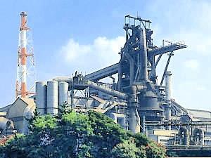 JFE倉敷の高炉
