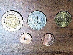 フィリピンの硬貨