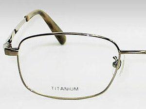チタン製メガネフレーム