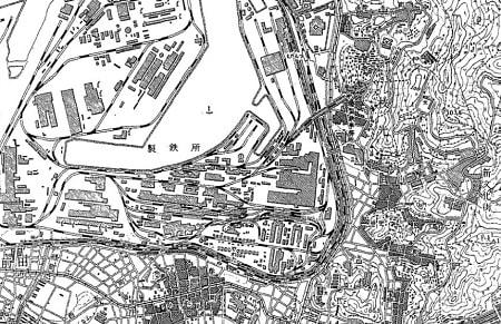 1950年ごろのスペースワールド用地