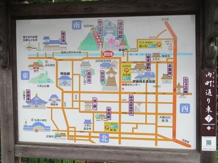 出石観光地図