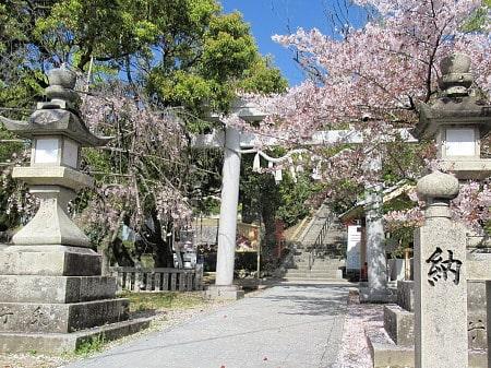 天神社の参道入口