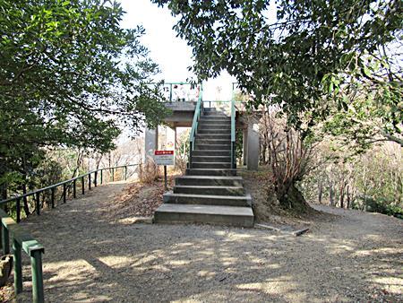西江寺上の展望台