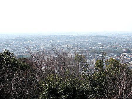 展望台からの大阪平野眺望
