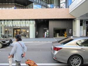SENRITOよみうり駐輪場入り口