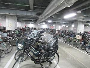 LABIの駐輪場